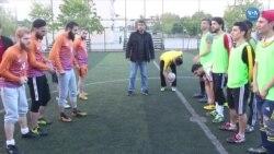 Suriyeli Göçmenlerin Futbol Tutkusu