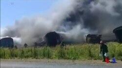 Accident de train mortel en Afrique du Sud (vidéo)