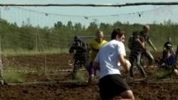'Giải World Cup Bùn lầy' ở Nga