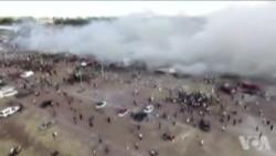 墨西哥烟花市场爆炸现场