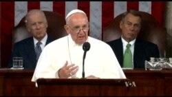 Pope to US Lawmakers: Unite, Make Progress