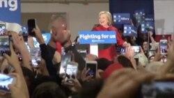Clintonova favorit, ali Sanders ima podršku mladih