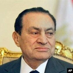 호스니 무바라크 전 대통령 (자료사진)