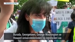 Tıp Öğrencileri de Protestolara Katıldı