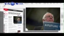 Ông Sanders sẽ ủng hộ bà Clinton nếu không được đề cử của đảng (VOA60)