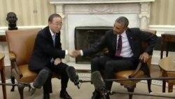 Predsjednik Obama i Ban Ki-moon pozivaju na snažnije napore protiv klimatskih promjena