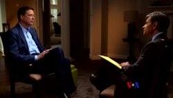 2018-04-16 美國之音視頻新聞:科米接受電視專訪批評川普不適合擔任美國總統