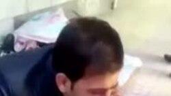 حمله ماموران سد معبر به دست فروش در جوانرود در نزدیکی پاوه کرمانشاه (تصویر حاوی خشونت است)