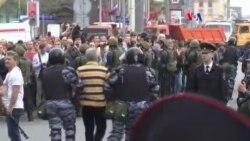 Casa Blanca condena represión de protestas rusas