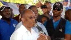 Ansyen Prezidan peyi Dayiti, Jean Bertrand Aristide nan Fò-Libète, sanmdi 17 septanm 2016