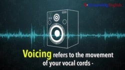How to Pronounce: What is Voicing?