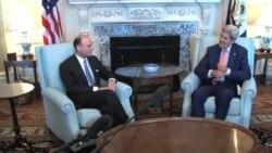 جان کری با وزیر خارجه عربستان در مورد توافق اتمی ایران گفتگو کرد