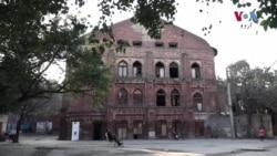 ہجرت کرنے والوں کی داستان سناتی ویران عمارت
