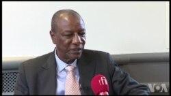 """""""Nous n'accepterons jamais le coup d'Etat militaire"""" au Zimbabwe affirme Apha Condé (vidéo)"""