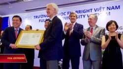 Việt Nam 'không tán thành' Mỹ bổ nhiệm ông Bob Kerrey tại Đại học Fulbright