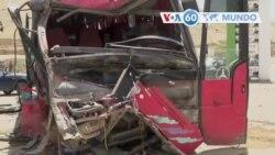 Manchetes mundo 27 Abril: Afeganistão: 7 mortos, mais de 70 feridos em acidente entre autocarros