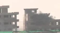 حملات بر ساختمان نزدیک میدان هوایی کابل