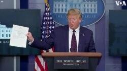 """ԱՄՆ-ի նախագահը կրկին թեստավորվել է կորոնավիրուսի համար՝ պատասխանը """"բացասական"""" է"""