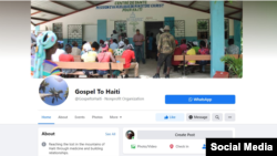 The U.S.-based missionary organization Gospel to Haiti said on its Facebook page that Americans Trent Hostelter, 35, and John Miller, 43, were among the victims of a plane crash July 2, 2021, southwest of Port-au-Prince, Haiti.