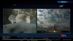 2017-02-20 美國之音視頻新聞: 獵鷹9號成功升空 (粵語)