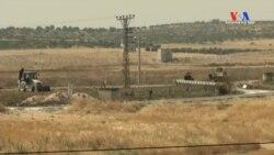 IŞİD Hendek Kazdı Türkiye Duvar Ördü
