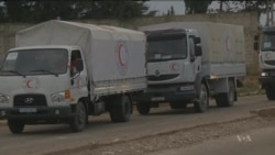 Aid Reaches Besieged Syrian Village; US Calls for Immediate Access
