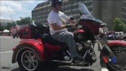 У Вашингтоні відбувся заїзд байкерів «Грім на колесах». Відео
