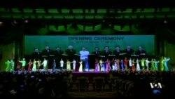 การแสดง ASEAN One Destiny ในพิธีเปิด ASEAN Summit ประเทศพม่า