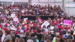 川普總統在佛州競選式集會中再次挑戰媒體 (粵語)