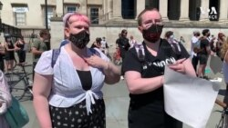 Polis Şiddeti Protestosu Londra'ya Sıçradı