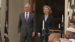美國防長稱讚德國增加軍費 共同維護包括遠東在內的國際安全秩序