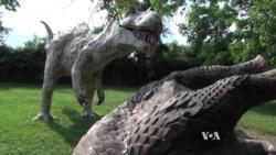 American Roadside Attraction 'Dinosaur Land' Lures Visitors