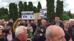 Protesti ispred VSTV-a: Građani traže pravdu i ostavke