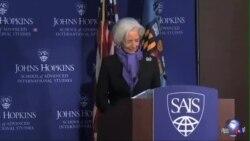 IMF总裁:全球经济复苏太慢 中国仍是动力