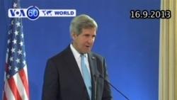 Các nước phương Tây và Nga đồng thuận về vấn đề Syria (VOA60)