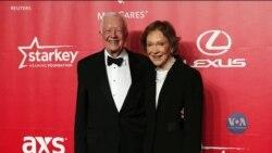 Перше подружжя США Джиммі та Розалінн Картер відсвяткували 75-ту річницю весілля: у чому секрет їхнього щасливого шлюбу? Відео