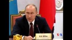 2014-10-12 美國之音視頻新聞: 普京命令俄軍撤離烏克蘭邊境地區