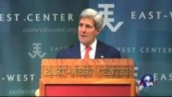 克里:解决南中国海问题应遵循国际法