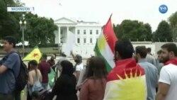 ABD ve Avrupa'da Türkiye'nin Operasyonunu Protesto Eylemleri