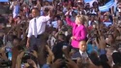 Predsjednik Obama u kampanji uz Hillary Clinton