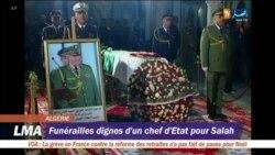 Le puissant général Ahmed Gaïd Salah enterré comme un chef d'Etat