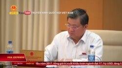Sợ lộ bí mật quốc gia, UBTV Quốc hội chỉ mở cửa 5 phút đầu cho báo chí