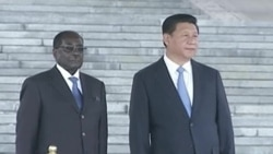 Robert Mugabe Visit to China