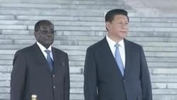 Robert Mugabe Visit to China