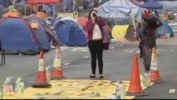 Người biểu tình Hồng Kông chuẩn bị rút lui
