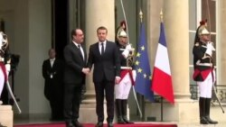 آغاز به کار جوانترین رییس جمهور فرانسه