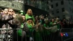 Святкування Дня святого Патрика у США. Відео