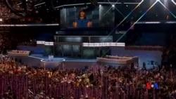 2016-07-26 美國之音視頻新聞: 美國第一夫人在民主黨全代會發表演說