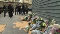French Gather, Mourn Victims of Terrorist Acts