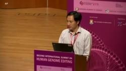 贺建奎2018年11月28日在香港举行的世界基因编辑峰会上发言